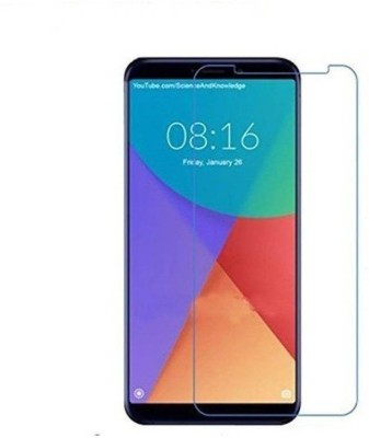 Richuzers Tempered Glass Guard for Mi Redmi 6(Pack of 1)