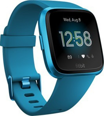 Fitbit Versa **** Edition Smartwatch(Blue Strap Regular)