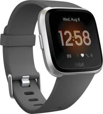 Fitbit Versa *** Edition Smartwatch(Grey Strap Regular)