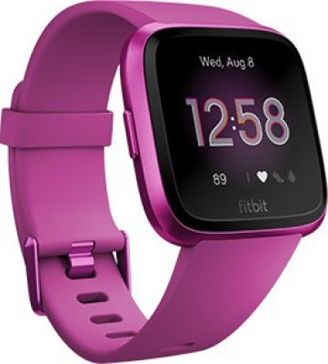 Fitbit Versa *** Edition Smartwatch(Purple Strap Regular)