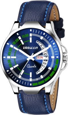 Embassy Day And Date Watch For Boys Day And Date Series Analog Watch  - For Men