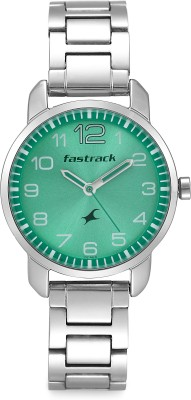 Fastrack 6111SM02C Analog Green Dial Women's Watch (6111SM02C)
