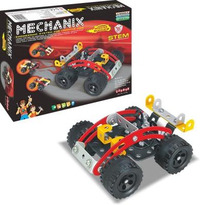 ZEPHYR Mechanix Monster Buggies Multicolor ZEPHYR Blocks   Building Sets