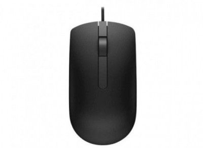 Dell ms116 007 Wired Optical Mouse USB 3.0, Black