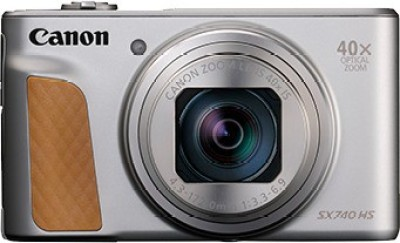 Canon PowerShot SX740 HS(20.3 MP, 40x Optical Zoom, 4x Digital Zoom, Silver)