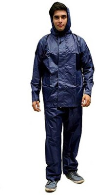 LAWMAN Solid Men Raincoat