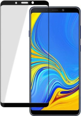 HRV Tempered Glass Guard for Samsung Galaxy A8 Star [ PACK OF 2 ] GOLDEN Series Anti-Blue Ray Tempered Glass Screen Guard(Pack of 2)