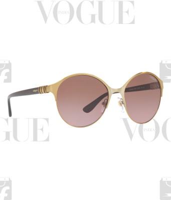 Vogue Round Sunglasses(Brown)