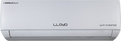 View Lloyd 1.5 Ton 3 Star Inverter AC with Wi-fi Connect  - White(LS18I35JA, Copper Condenser) Price Online(Lloyd)
