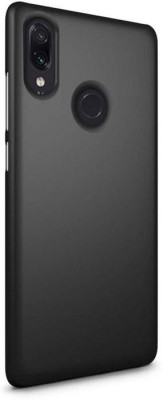 Unirock Back Cover for Redmi Note 7 (Ruby Red, 64 GB) (4 GB RAM)(Luxury Matte Finish Rubberised Slim (♥Black♥), Grip Case)