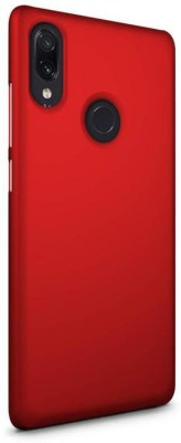 Unirock Back Cover for Redmi Note 7 (Onyx Black, 32 GB) (3 GB RAM)(Luxury Matte Finish Rubberised Slim (♥Red♥), Grip Case)