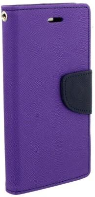 Avzax Flip Cover for Lenovo K8 Plus(Purple, Cases with Holder)
