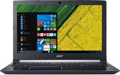 Acer Aspire 5 Core i5 7th Gen - (8 GB/1 TB HDD/Windows 10 Home/2 GB Graphics) A515-51G Laptop(15.6 inch, Obsidian Black, 2 kg)
