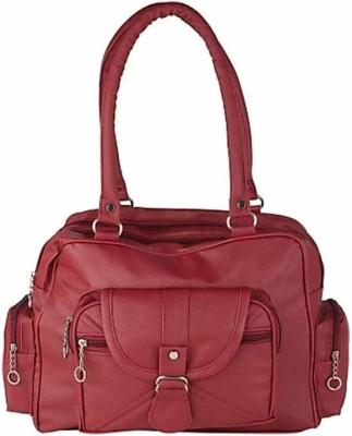 rishi Women Maroon Hand-held Bag