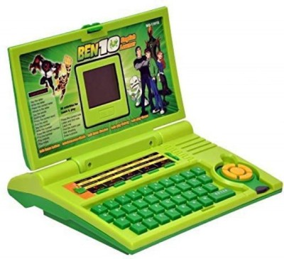 SKEDIZ BEN10 ENGLISH LEARNER LAPTOP WITH MOUSE CONTROL(Green)