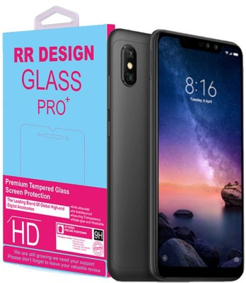 RR Design Tempered Glass Guard for Mi Redmi Note 6 Pro(Pack of 1)
