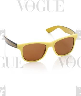 Fastrack Wayfarer Sunglasses(Brown)  available at flipkart for Rs.895