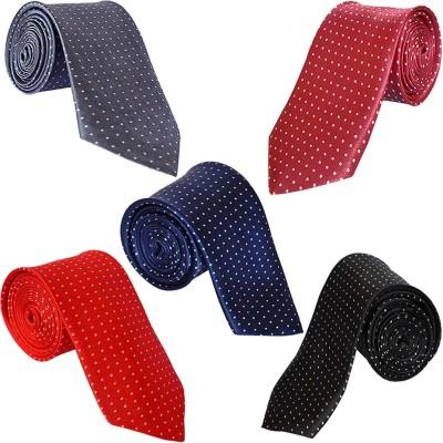LOOPA Polka Print Tie(Pack of 5)