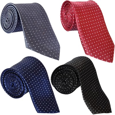 LOOPA Polka Print Tie(Pack of 4)