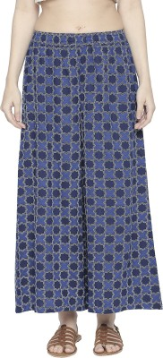 Rangmanch by Pantaloons Regular Fit Women Dark Blue Trousers