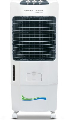 Voltas Victor 90L Desert Air Cooler (White)