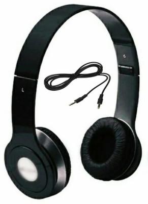fi-yonity On-Ear Dynamic Wired Headphones (Black) Wired Headphone(Black, On the Ear)