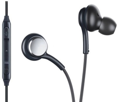Alafi Powerful sound beats akg Headset e2 with Mic (Black,In the Ear) Wired Headset(Black, Wired in the ear)