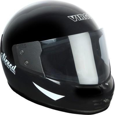 Virgo Airzed Motorbike Helmet(BlackGlossyTinted)