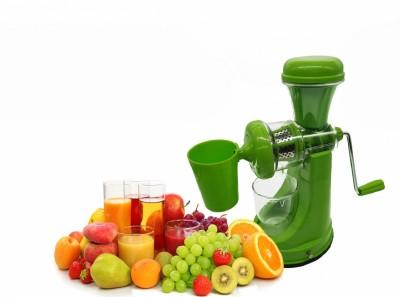 Bluwings Fruits and Vegetable Orange Juicer with Steel Handle and waste Cup 0 Juicer(Green, 1 Jar)