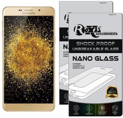Roxel Nano Glass for Samsung Galaxy A9 Pro (Gold, 32 GB) (4 GB RAM)(Pack of 2)