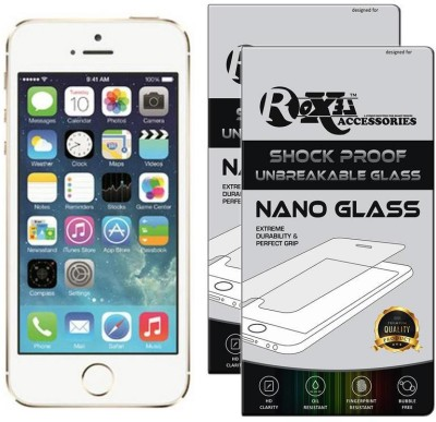 Roxel Nano Glass for Apple iPhone 5s(Pack of 2)