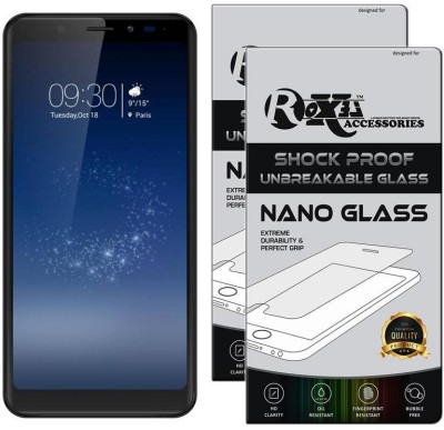 Roxel Nano Glass for Micromax Canvas Infinity (Black, 32 GB) (3 GB RAM)(Pack of 2)