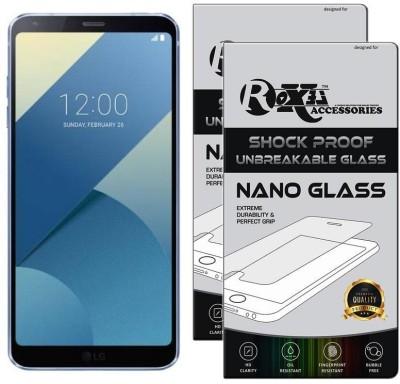 Roxel Nano Glass for LG G6 (Blue, 64 GB) (4 GB RAM)(Pack of 2)