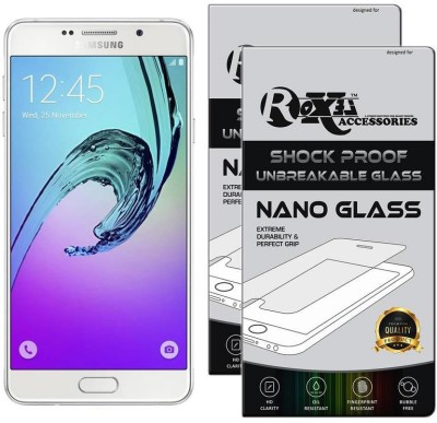 Roxel Nano Glass for Samsung Galaxy A7 2016 Edition (White, 16 GB) (3 GB RAM)(Pack of 2)