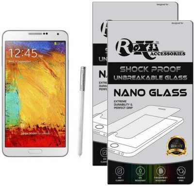 Roxel Nano Glass for Samsung Galaxy Note 3 (Classic White, 32 GB) (3 GB RAM)(Pack of 2)