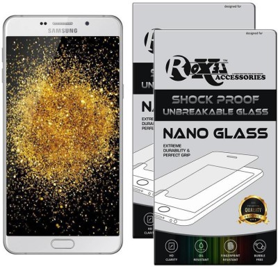 Roxel Nano Glass for Samsung Galaxy A9 Pro (White, 32 GB) (4 GB RAM)(Pack of 2)