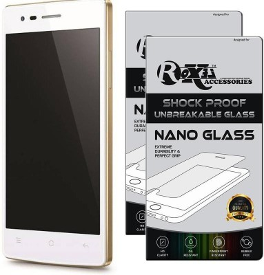 Roxel Nano Glass for OPPO Neo 5 (White, 16 GB) (1 GB RAM)(Pack of 2)