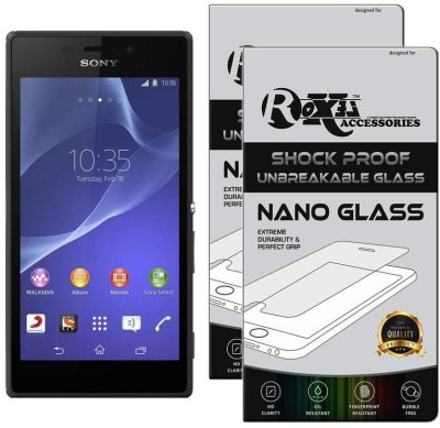 Affix Tempered Glass Guard for Sony Xperia M2 Dual(Pack of 1)