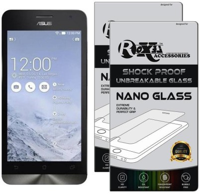 H.K.Impex Tempered Glass Guard for Asus Zenfone 5 A501CG, asus zenfone 5 tempered glass in mobile screen guard(Pack of 1)