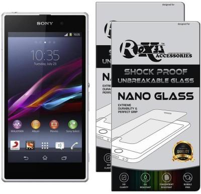 Roxel Nano Glass for Sony Xperia Z1 (White, 16 GB) (2 GB RAM)(Pack of 2)