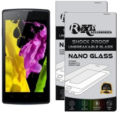 Roxel Nano Glass for OPPO Neo 5 (Black, 16 GB) (1 GB RAM)(Pack of 2)