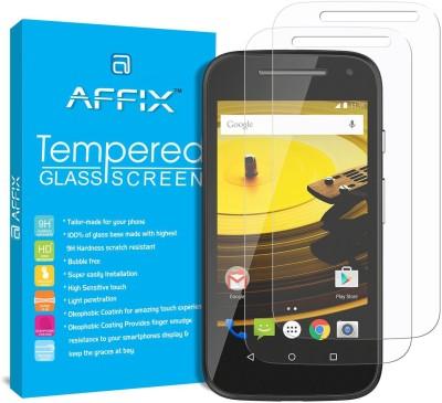 REZAWZ Tempered Glass Guard for Motorola Moto E (2nd Gen) 3G(Pack of 1)