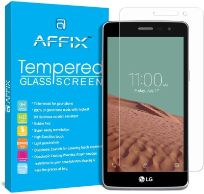 Bibossi Tempered Glass Guard for LG L Bello 2(Pack of 2)