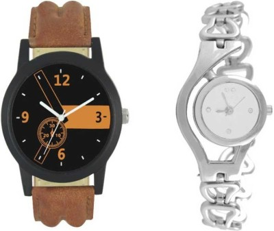 SWARA COLLECTION new swara 384s New Designer fancy Lattest collection Selected analog new stylist Model copule combo Watch - For Couple Watch  - For Couple