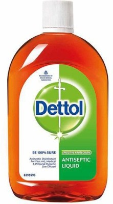 Dettol 210 ml(Pack of 3) Antiseptic Liquid(630 ml, Pack of 3)