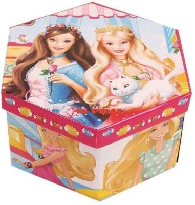 Galaxies Multi Layer Barbie Coloring Box