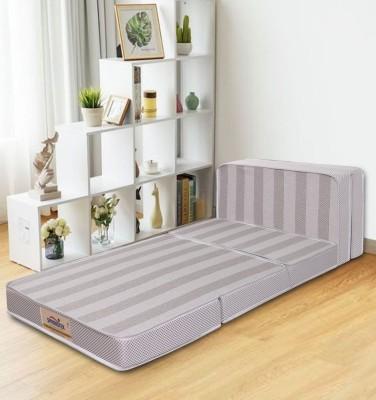 Springtek 3 Folding/Travel Mattress 4 inch Queen PU Foam Mattress