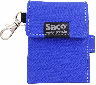 Saco Flip Cover for Samsung T3 Portable 250GB USB 30 External SSD (MUPT250B/AM)(Blue, Shock Proof)