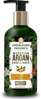Himalayan Organics Moroccan Argan Conditioner for Hair Repair & Shine - 300ml - No Parabean & Sulfate(300 ml)