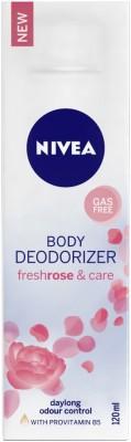 Nivea Fresh Rose & Care Female Deodorizer Deodorant Spray - For Women(120 ml)